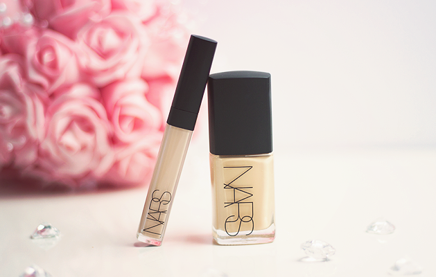 Beauty, Review, Nars, Nars Sheer Glow Foundation, Nars Radiant Creamy Concealer, Nars Sheer Glow Foundation Deauville, Nars Radiant Creamy Concealer Vanilla