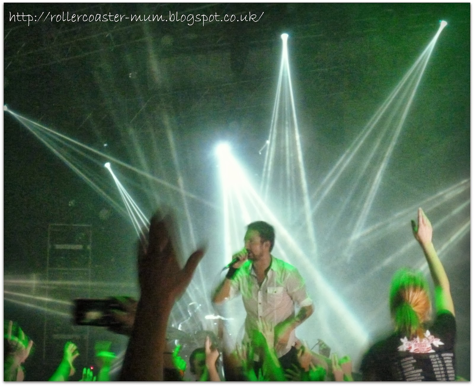 Frank Turner - almost crowdsurfing - Portsmouth Guildhall Feb 2014