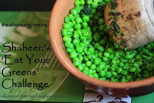 September Challenge: Green Pasta Dish