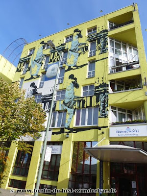 Berlin, graffiti, streetart, art, gebäude