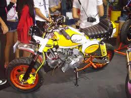 มอเตอร์ไซค์เล็ก Mini Bike Stallions SME ตีแตก