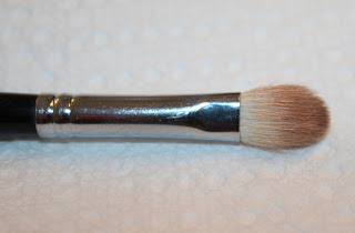 Dirty eyeshadow brush