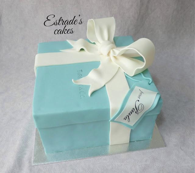 tarta caja de Tiffany 3