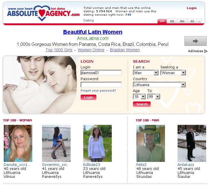 международное агентство знакомств москва