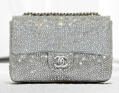 Bolso Chanel 2.55 plateado