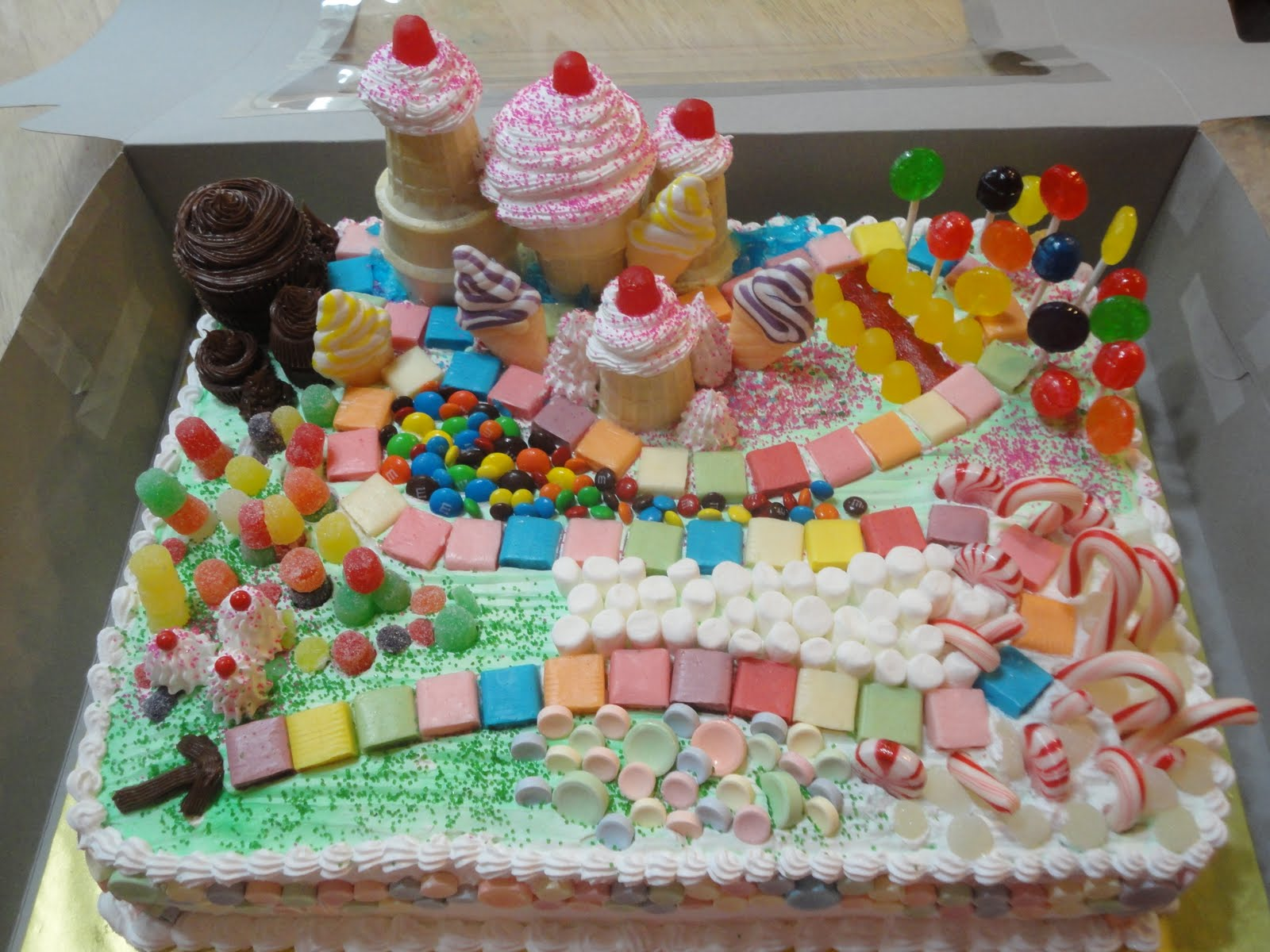 Candyland Cake Cake Ideas And Designs