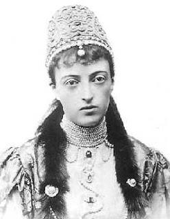 Grande-duchesse Anastasia de Mecklembourg-Schwerin,