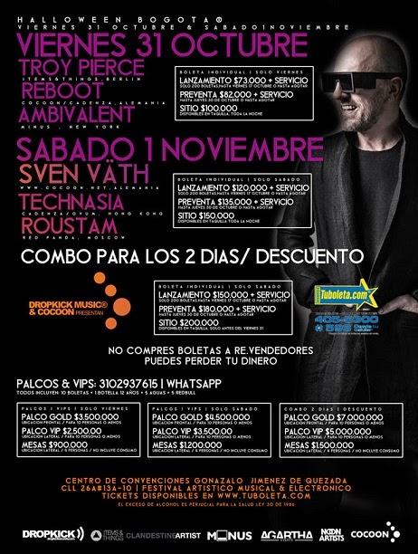 HALLOWEN FESTIVAL 2014 Bogotá