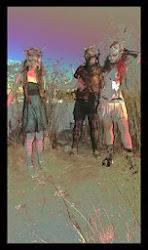 Roxy Monoxide, Mikey Mayhem, LuLu Gamma Ray.
