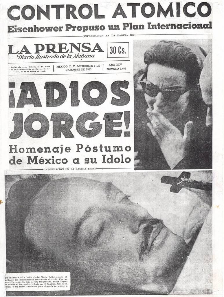 Muerte De Jorge Negrete Hd 1080p 4k Foto