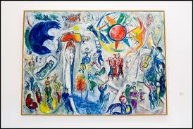 Sablet home your home in provence august 2012 for Chagall st paul de vence