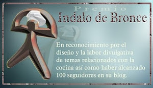 Premio Indalo de Bronce de mi amiga Trini Altea