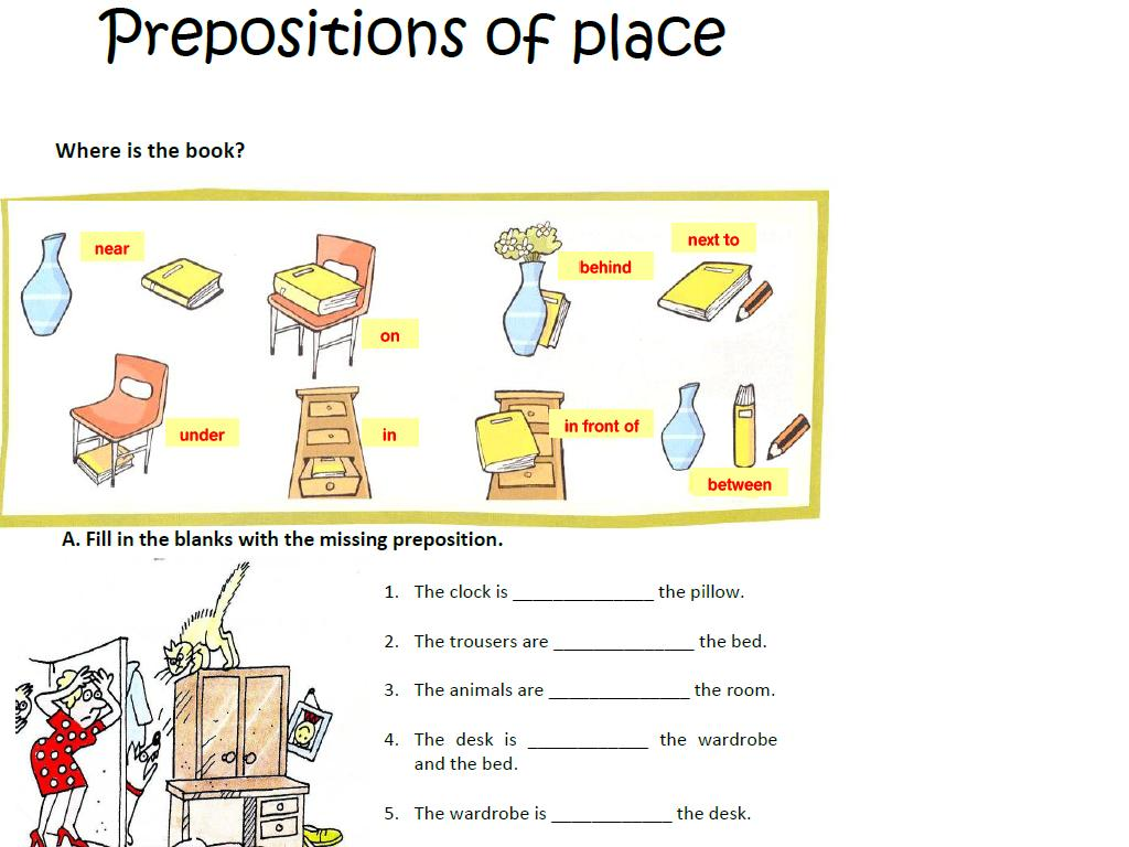 Preposition+of+Place+Exercise Preposition of Place Exercise http ...