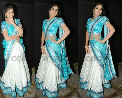 Anvika Designer Half Saree