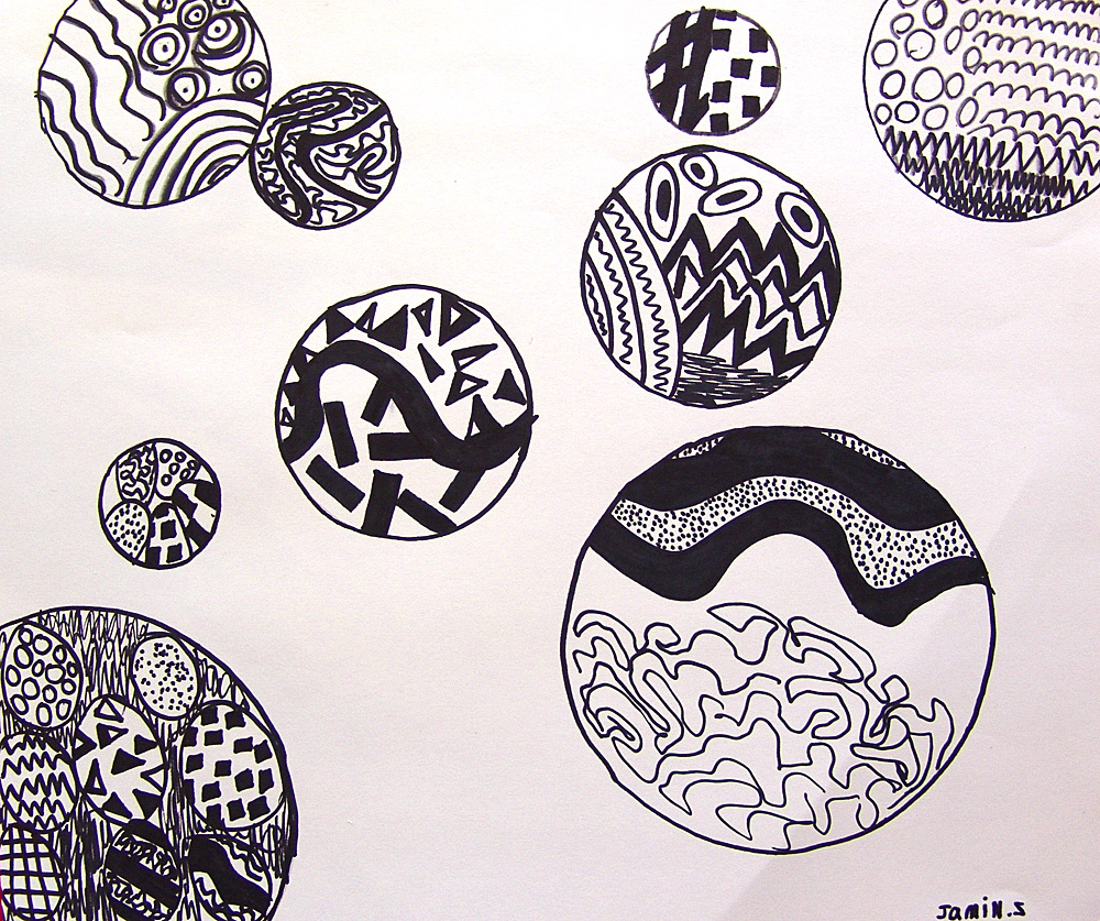 Different Art Designs : Cool stuff art gallery black white drawing project