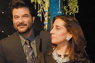 Anil Kapoor  and  wife Sunita Kapoor