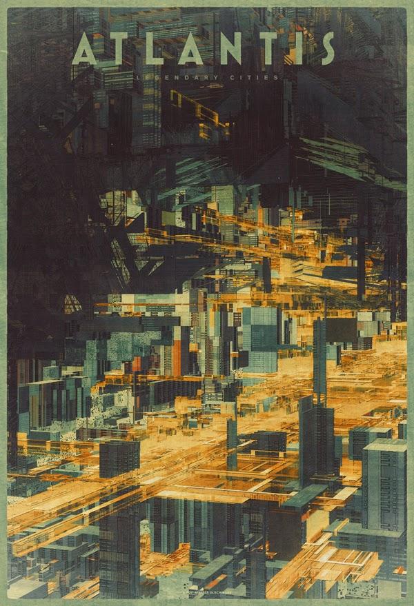 ©Atelier Olschinsky. Legendary Cities. Ilustración | Illustration. Arquitectura | Architecture