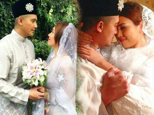 8 Gambar Romantis Aaron Aziz Dan Siti Saleha Cinta Paling Agung