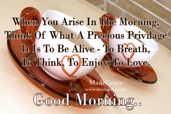 Good Morning Message Wishes Greetings Pictures