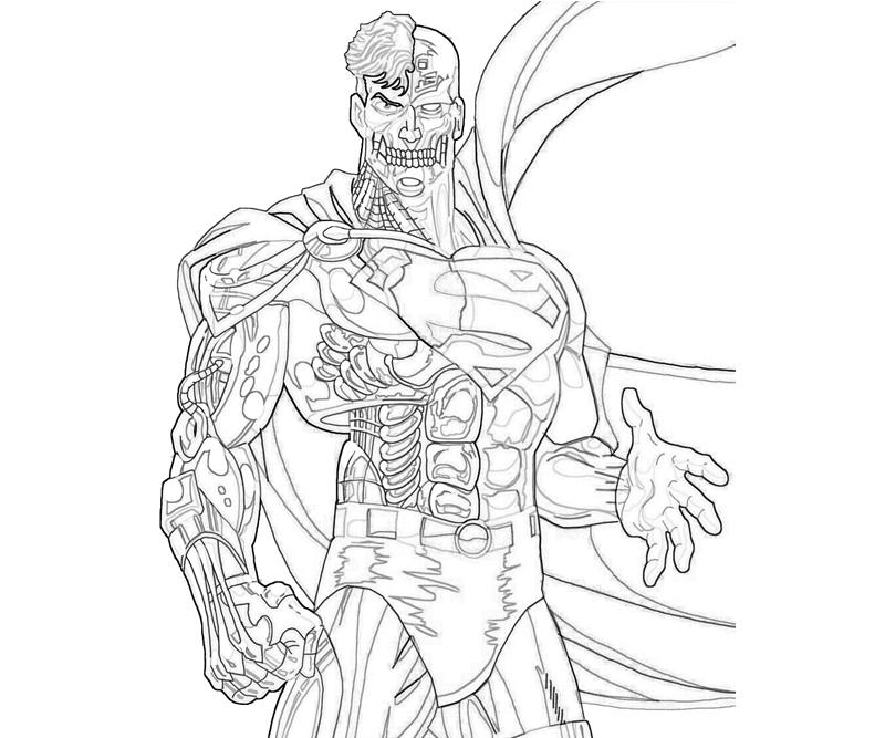 cyborg-superman-power-coloring-pages