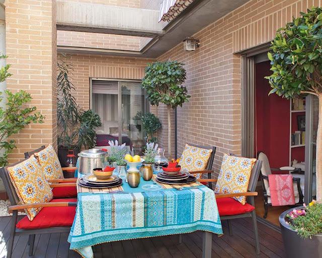 decoração de áreas externas, decoração de terraço