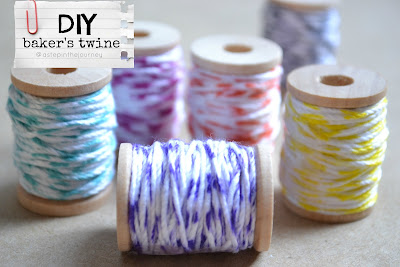 DIY bakers twine tutorial