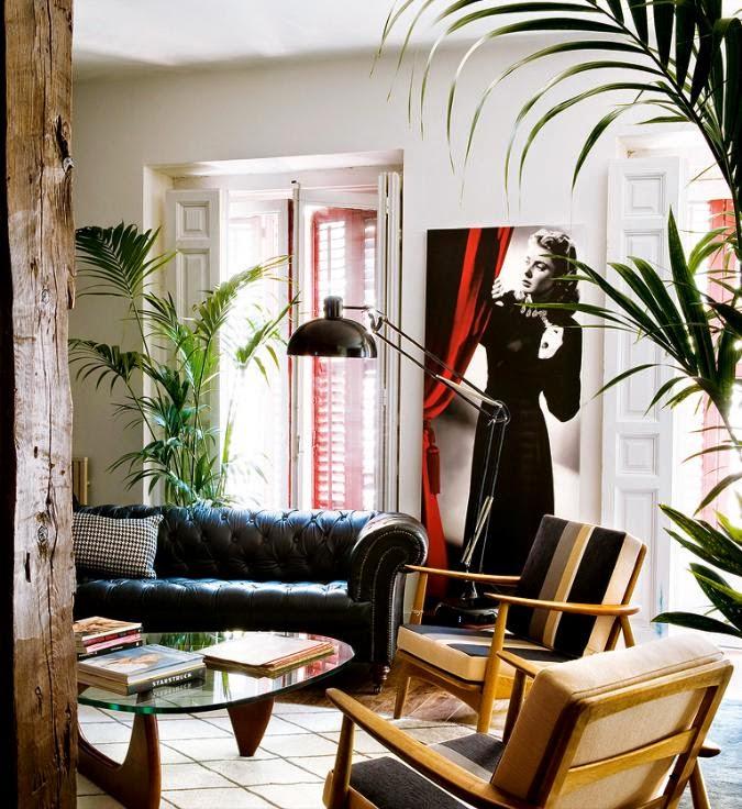 Interior una vivienda ecl ctica muy cinematogr fica virlova style - Decoracion eclectica ...