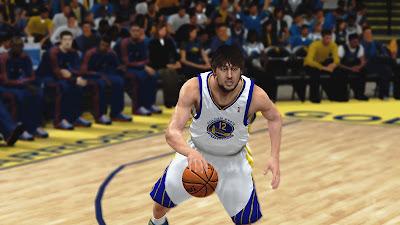 NBA 2K13 Andrew Bogut Cyberface Patch