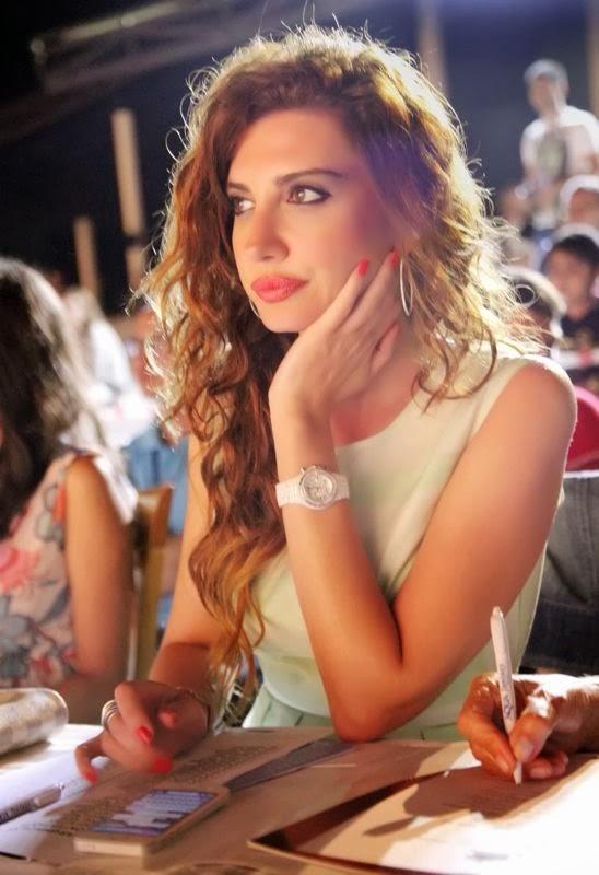 Miss Model of Turkey Jürisinde oylama esnasında