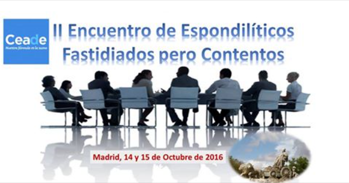 II Encuentro de Espondilíticos Fastidiados pero Contentos 2016