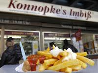 Konnopke's imbiss - currywurst