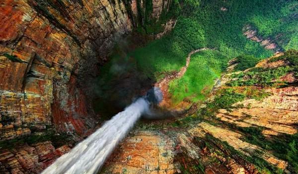 Cascadas Dragón, Venezuela