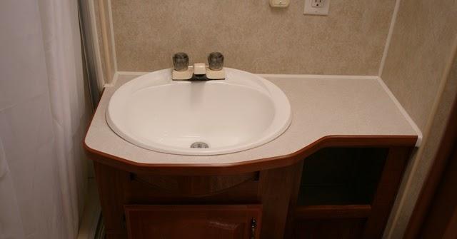 Acorn To Oak Rv Bathroom Makeover