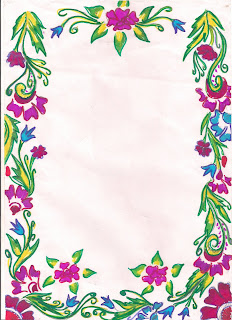 Rajkamal official blog these page border will make your for Assignment front page decoration