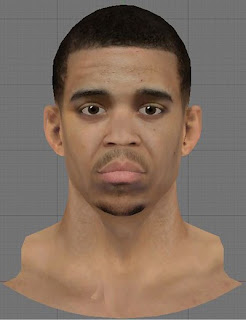 NBA 2K13 JaVale McGee Cyberface Patch