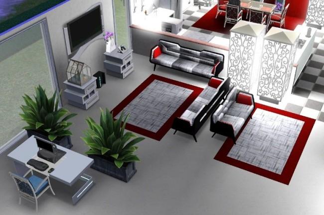 Sims 3 häuser von innen wohnzimmer  nails reloaded - [Gespielt] Sims 3