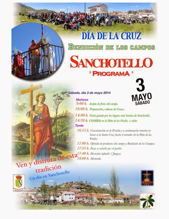 3/mayo. Festividad de la Cruz.Sanchotello