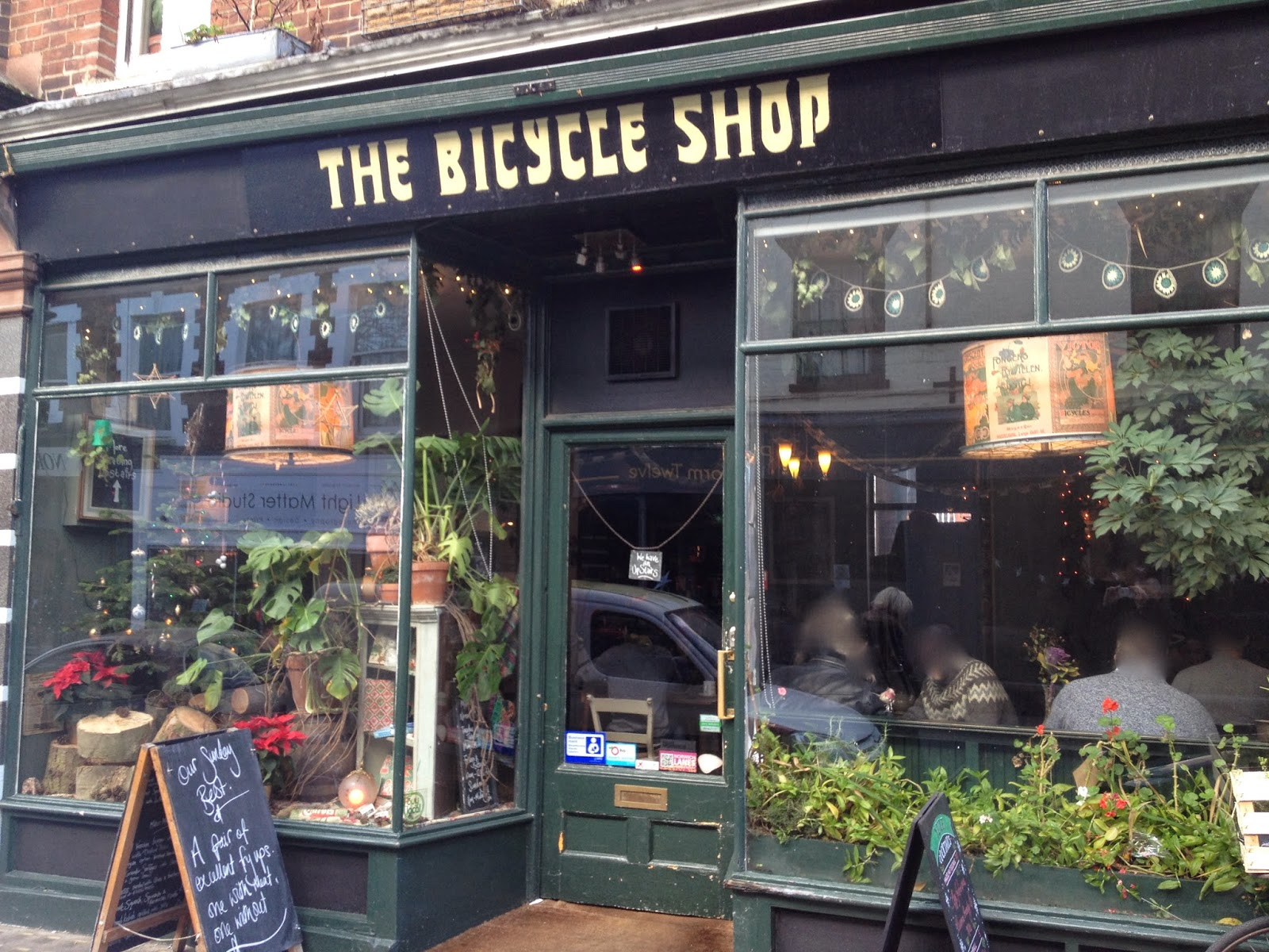 The Fry Up Inspector The Bicycle Shop Norwich
