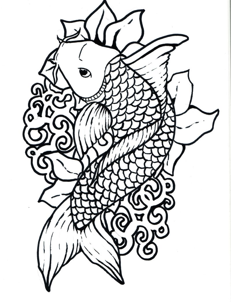 Zodiac tattoo designs there is only here: Koi Fish Tattoo ...
