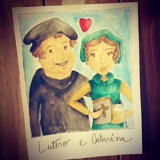 Lutero e Catarina_por Kamilla Domingues