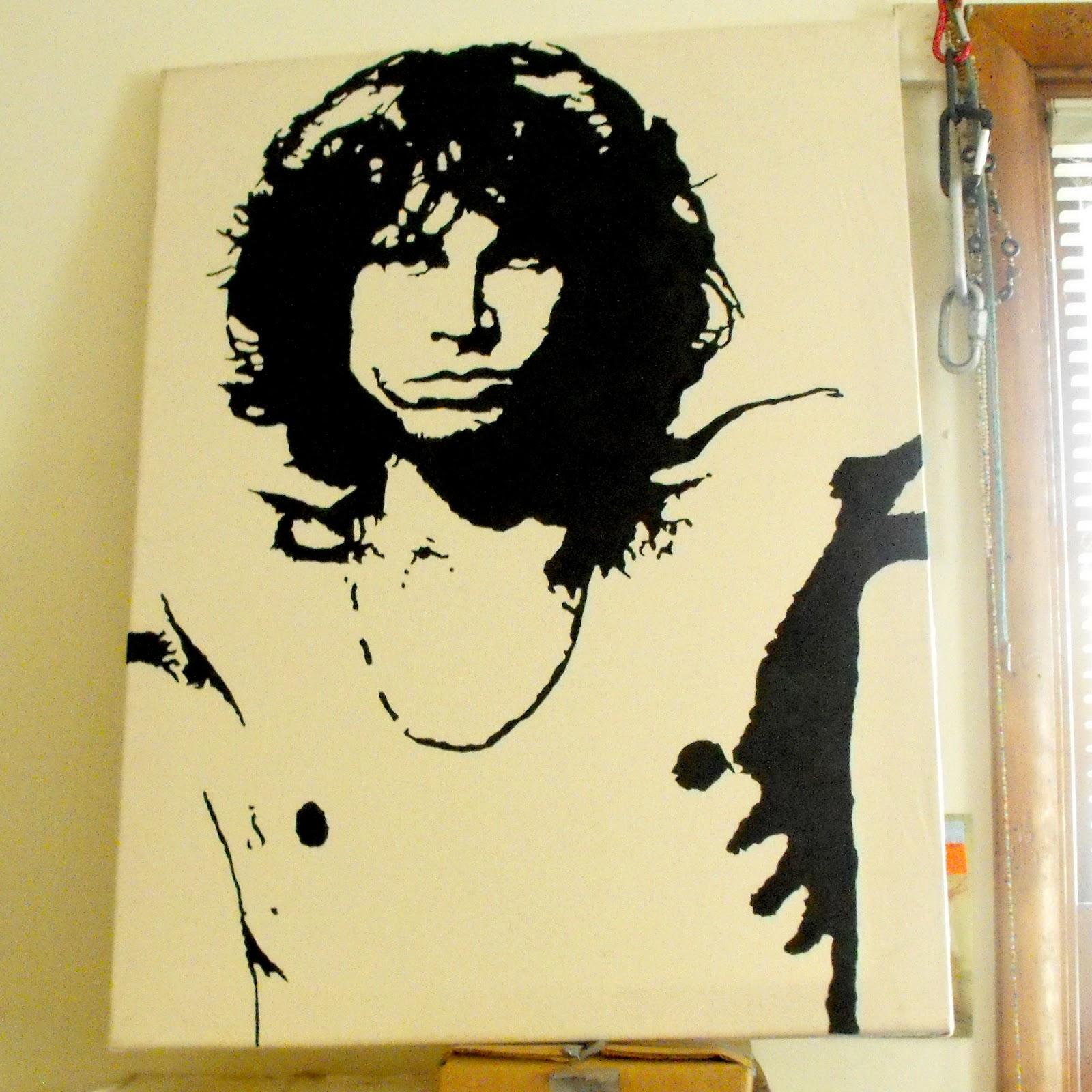 RAYGUNOMICS: Jim Morrison Wall Art