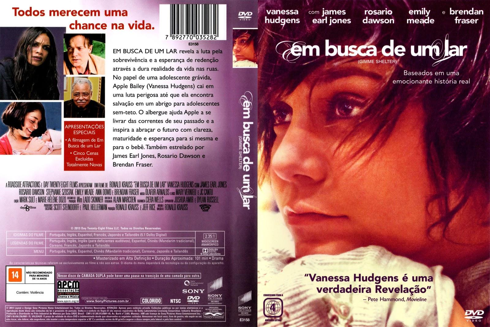 Capa DVD Em Busca De Um Lar