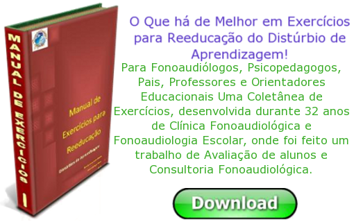 Manual de Exerccios para Reeducao da Leitura e Escrita