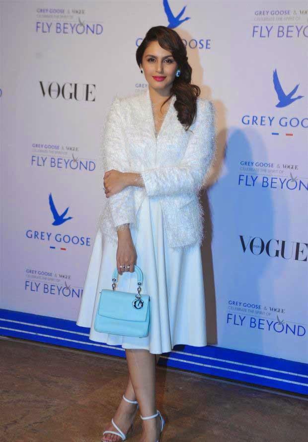 Huma Qureshi in Neha Taneja & Dior