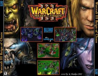 game yang memuat predikat terbaik yang diproduksi oleh blizzard Games Warcraft 3 Regin of Chaos Untuk PC