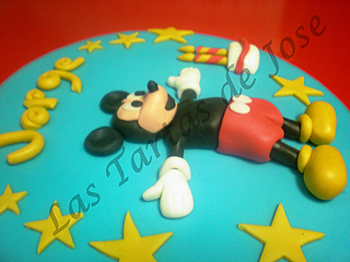 Tarta de Mickey Mouse. Las Tartas de Jose. Castellón.