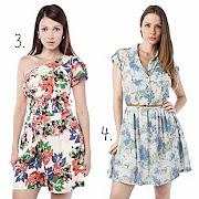 Vestidos estampados: verão 2012