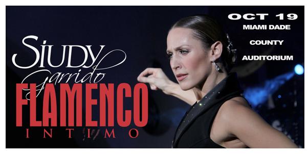 Siudy Garrido presenta su nuevo espectáculo flamenco intimo