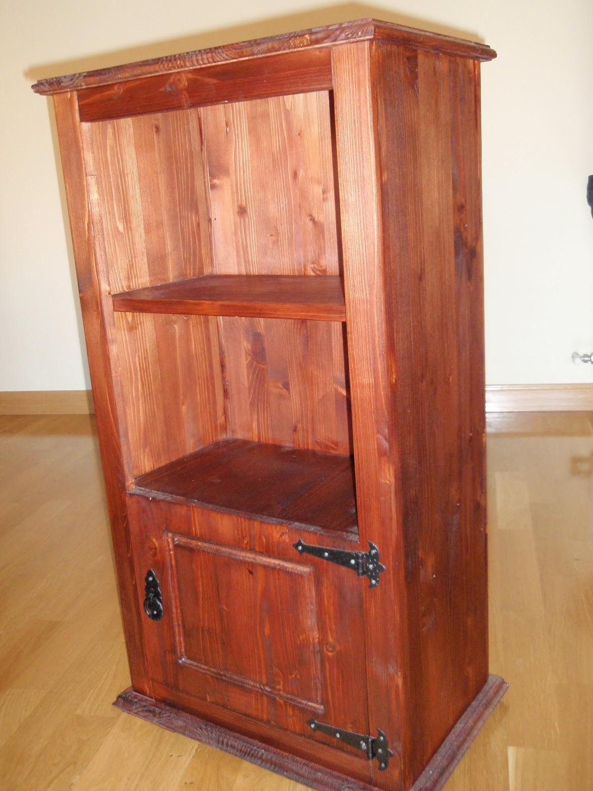 Trabajos r sticos mueble r stico - Mueble recibidor rustico ...