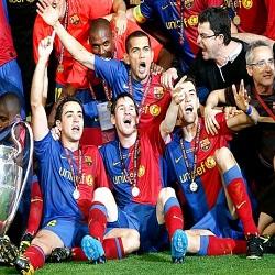 DP Perayaan Juara Bacelona